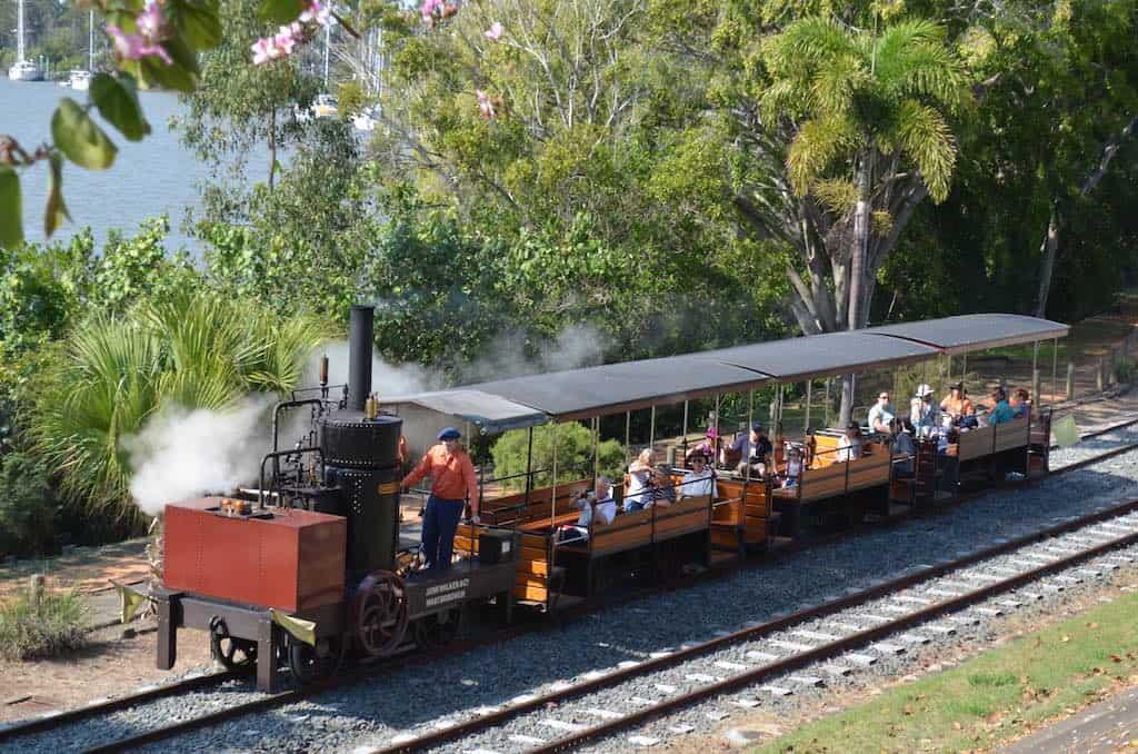 Mary Ann Steam Train Maryborough