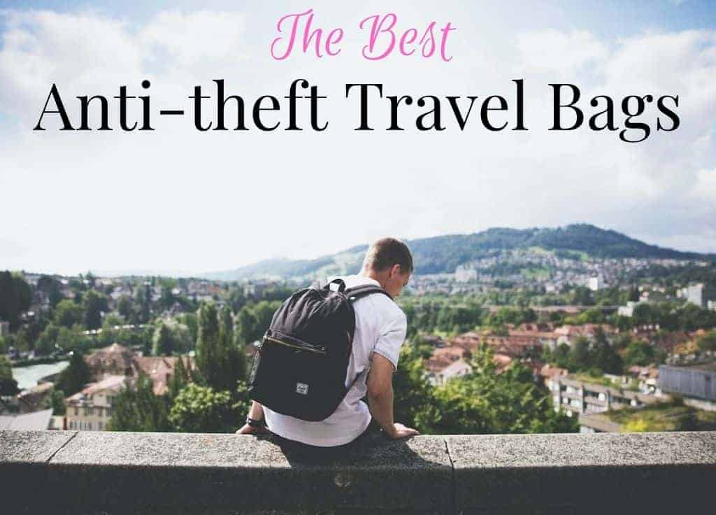 Best anti theft travel bags featured image