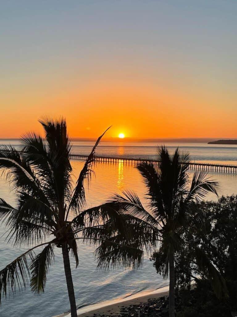 Sunrise at Urangan Pier Hervey Bay