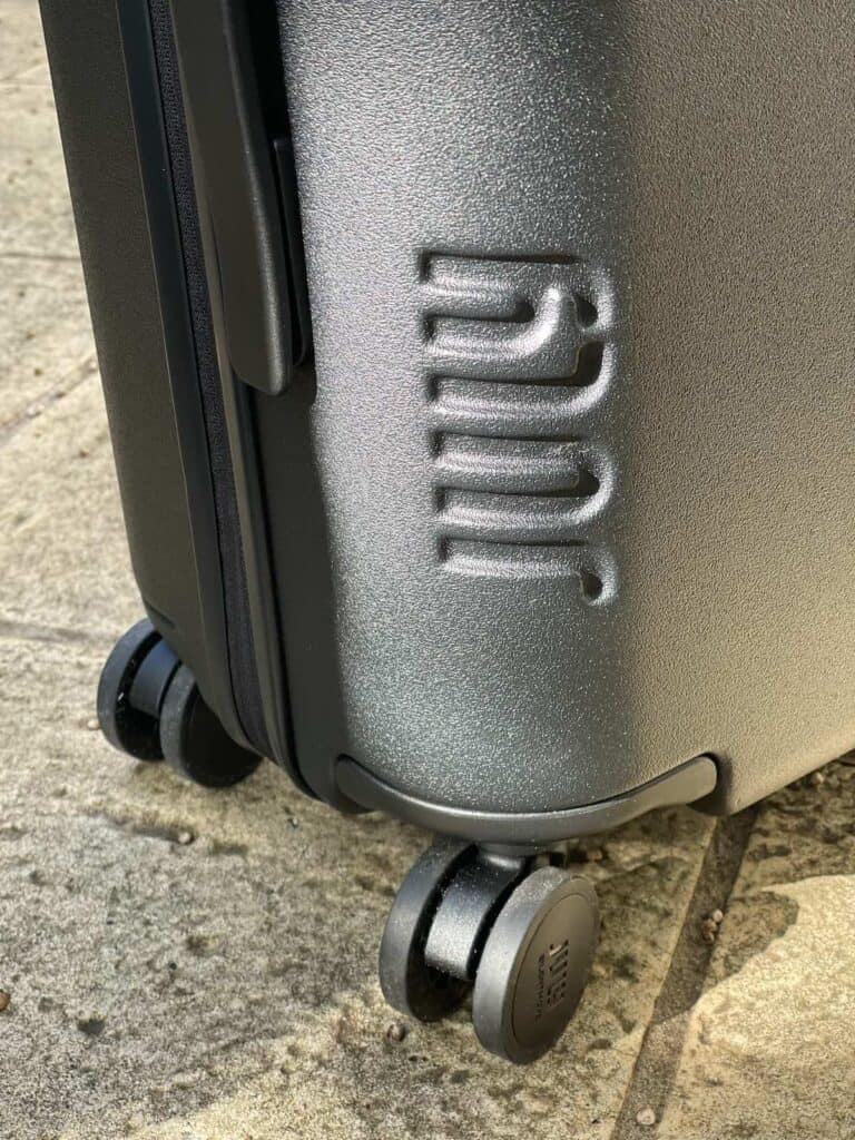 Wheels on July Carry On Suitcase
